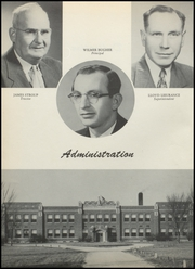 Page 6, 1954 Edition, Jackson Center High School - Jaguar Yearbook (Bluffton, IN) online yearbook collection