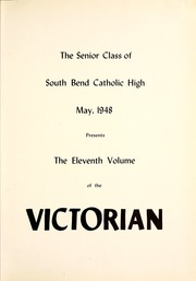 Page 5, 1948 Edition, South Bend Catholic High School - Victorian Yearbook (South Bend, IN) online yearbook collection