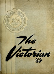 Page 1, 1953 Edition, South Bend Catholic High School - Victorian Yearbook (South Bend, IN) online yearbook collection