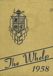 1958 Edition, West Township High School - Whelp Yearbook (Plymouth, IN)