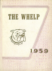 1959 Edition, West Township High School - Whelp Yearbook (Plymouth, IN)