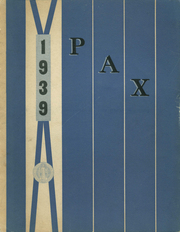 Academy of the Immaculate Conception - Pax Yearbook (Ferdinand, IN) online yearbook collection, 1939 Edition, Page 1