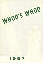 1957 Edition, Manilla High School - Whoos Who Yearbook (Manilla, IN)
