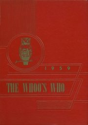 1959 Edition, Manilla High School - Whoos Who Yearbook (Manilla, IN)