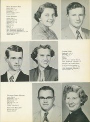 Page 15, 1954 Edition, Noble High School - Treasure Chest Yearbook (Wabash, IN) online yearbook collection