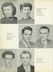 Page 16, 1954 Edition, Noble High School - Treasure Chest Yearbook (Wabash, IN) online yearbook collection