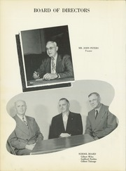 Page 8, 1954 Edition, Noble High School - Treasure Chest Yearbook (Wabash, IN) online yearbook collection