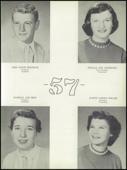 Page 13, 1957 Edition, Noble High School - Treasure Chest Yearbook (Wabash, IN) online yearbook collection