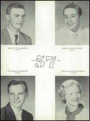 Page 16, 1957 Edition, Noble High School - Treasure Chest Yearbook (Wabash, IN) online yearbook collection