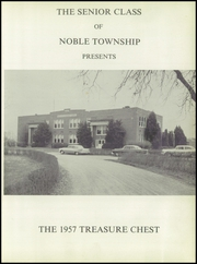 Page 5, 1957 Edition, Noble High School - Treasure Chest Yearbook (Wabash, IN) online yearbook collection