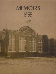 1955 Edition, Jackson High School - Memoirs Yearbook (Westport, IN)