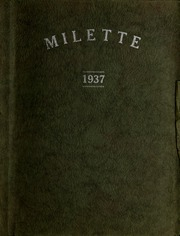 1937 Edition, Twelve Mile High School - Milette Yearbook (Twelve Mile, IN)