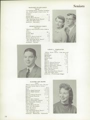 Page 14, 1956 Edition, Hillsboro High School - Hiltosco Yearbook (Hillsboro, IN) online yearbook collection