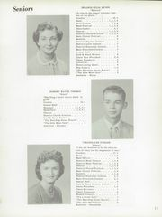 Page 15, 1956 Edition, Hillsboro High School - Hiltosco Yearbook (Hillsboro, IN) online yearbook collection