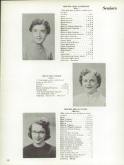 Page 16, 1956 Edition, Hillsboro High School - Hiltosco Yearbook (Hillsboro, IN) online yearbook collection