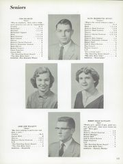 Page 17, 1956 Edition, Hillsboro High School - Hiltosco Yearbook (Hillsboro, IN) online yearbook collection