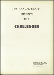 Page 5, 1955 Edition, Michigantown High School - Challenger Yearbook (Michigantown, IN) online yearbook collection