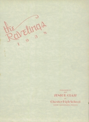 Page 3, 1938 Edition, Chester High School - Ravelings Yearbook (North Manchester, IN) online yearbook collection