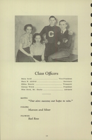 Page 12, 1940 Edition, Chester High School - Ravelings Yearbook (North Manchester, IN) online yearbook collection