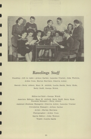 Page 13, 1940 Edition, Chester High School - Ravelings Yearbook (North Manchester, IN) online yearbook collection