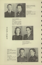 Page 16, 1940 Edition, Chester High School - Ravelings Yearbook (North Manchester, IN) online yearbook collection