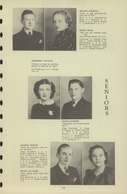 Page 17, 1940 Edition, Chester High School - Ravelings Yearbook (North Manchester, IN) online yearbook collection