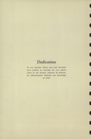 Page 4, 1940 Edition, Chester High School - Ravelings Yearbook (North Manchester, IN) online yearbook collection