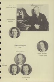 Page 7, 1940 Edition, Chester High School - Ravelings Yearbook (North Manchester, IN) online yearbook collection