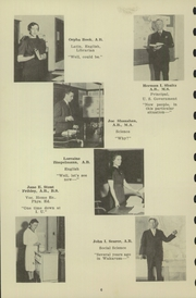 Page 8, 1940 Edition, Chester High School - Ravelings Yearbook (North Manchester, IN) online yearbook collection