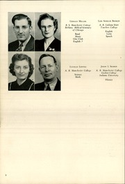 Page 10, 1942 Edition, Chester High School - Ravelings Yearbook (North Manchester, IN) online yearbook collection