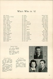 Page 13, 1942 Edition, Chester High School - Ravelings Yearbook (North Manchester, IN) online yearbook collection