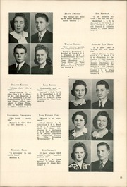 Page 17, 1942 Edition, Chester High School - Ravelings Yearbook (North Manchester, IN) online yearbook collection