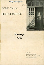 Page 3, 1942 Edition, Chester High School - Ravelings Yearbook (North Manchester, IN) online yearbook collection