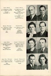 Page 9, 1942 Edition, Chester High School - Ravelings Yearbook (North Manchester, IN) online yearbook collection