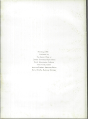 Page 6, 1955 Edition, Chester High School - Ravelings Yearbook (North Manchester, IN) online yearbook collection