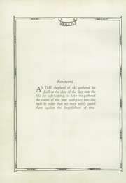 Page 8, 1927 Edition, Mulberry High School - Oracle Yearbook (Mulberry, IN) online yearbook collection