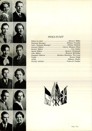 Page 6, 1936 Edition, Buchanan High School - Pines Yearbook (Buchanan, MI) online yearbook collection