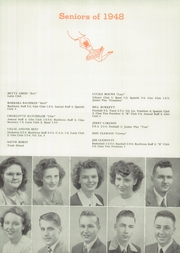 Page 13, 1948 Edition, Buchanan High School - Pines Yearbook (Buchanan, MI) online yearbook collection