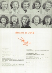 Page 17, 1948 Edition, Buchanan High School - Pines Yearbook (Buchanan, MI) online yearbook collection