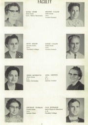 Page 11, 1956 Edition, Clark Township High School - Anchor Yearbook (Whiteland, IN) online yearbook collection