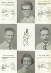 Page 15, 1956 Edition, Clark Township High School - Anchor Yearbook (Whiteland, IN) online yearbook collection
