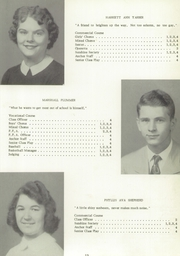 Page 17, 1956 Edition, Clark Township High School - Anchor Yearbook (Whiteland, IN) online yearbook collection