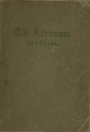 1924 Edition, Pleasantville High School - Acroama Yearbook (Pleasantville, IN)