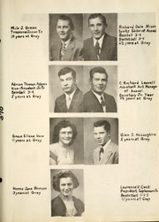 Page 17, 1950 Edition, Gray High School - Jeffersonian Yearbook (Portland, IN) online yearbook collection