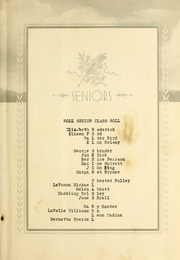 Page 13, 1937 Edition, Roll High School - Rollonian Yearbook (Roll, IN) online yearbook collection