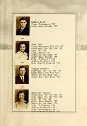 Page 17, 1937 Edition, Roll High School - Rollonian Yearbook (Roll, IN) online yearbook collection