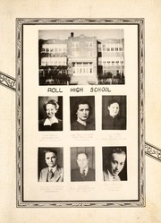 Page 13, 1942 Edition, Roll High School - Rollonian Yearbook (Roll, IN) online yearbook collection