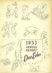 Page 1, 1953 Edition, Etna Green High School - Echo Yearbook (Etna Green, IN) online yearbook collection