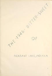 Page 7, 1946 Edition, Pleasant Lake High School - Bittersweet Yearbook (Pleasant Lake, IN) online yearbook collection