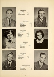Page 17, 1949 Edition, Pleasant Lake High School - Bittersweet Yearbook (Pleasant Lake, IN) online yearbook collection